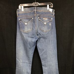 Hudson Jeans Beth Baby Boot Stretch Mid Wash Sz 31